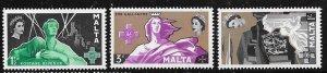 Malta MNH 272-4 LOOOOOK