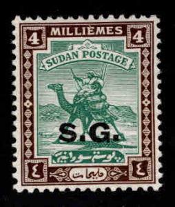 SUDAN Scott o13 MH* Official Camel Mail stamp Wmk 214 SG
