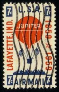 US #C54 Balloon Jupiter; used (0.25)