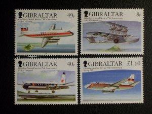 Gibraltar Scott #1048-1051 mnh