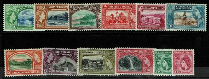 Trinidad & Tobago SG# 267 - 278 Mint Hinged / Hinge Rems - S6290