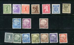 Germany 1945/.56  Used/Unused 7031
