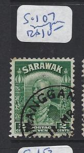 SARAWAK (P1309B)  2C  SG 107 SIMANGGANG  VFU