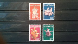 Suriname MNH 520-3 Orchids