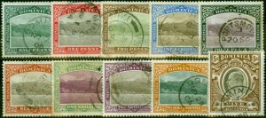 Dominica 1903 Set of 10 SG27-36 Fine Used