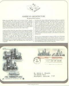 Architecture, FDC's (USHFDC1838-9)