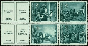 Argentina #792a  MNH - Paintings of Prilidiano Pueyrredon (1966)