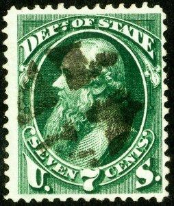 US Stamps # O61 Used F-VF Deep color