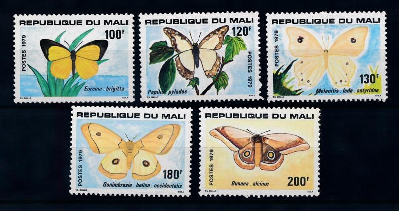 [70779] Mali 1979 Insects Butterflies  MNH