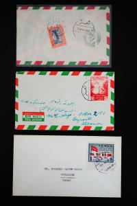 Yemen Stamped Old Covers Lot
