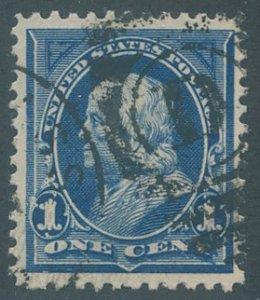 US Scott #247 Used, FVF
