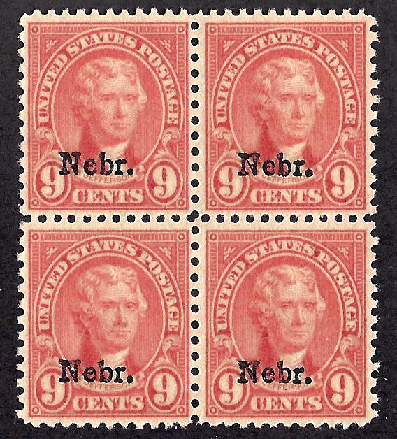 678 Mint,OG,NH... Block of 4... SCV $280.00