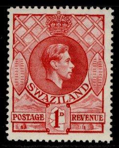 SWAZILAND GVI SG29a, 1d rose-red, M MINT.