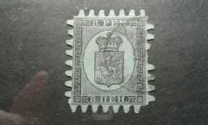 Finland #7 used Type III missing perf e201.6569