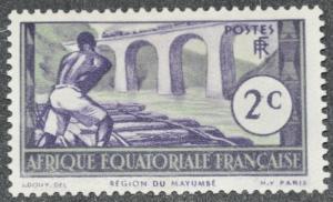 French Equatorial Africa Scott #34 - UNUSED