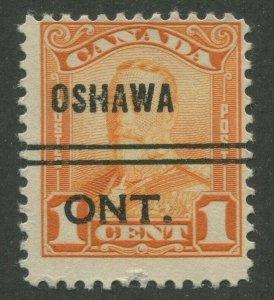 CANADA PRECANCEL OSHAWA 1-149