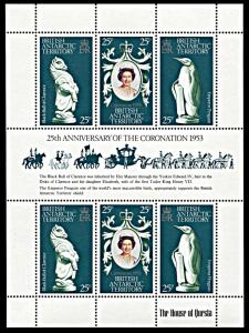 British Antarctic Territory 71, MNH, 25th anniv. Queen Elizabeth Coronation