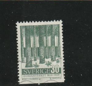 Sweden  Scott#  546  Used