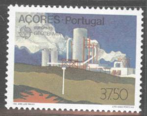 Azores Scott 336 MNH** 1983 Europa Geothermal Energy stamp
