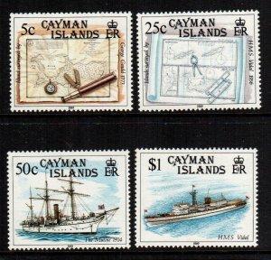 Cayman Islands  614 - 617   MNH $ 25.00