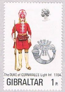 Gibraltar Cornwallis 1p - pickastamp (AP103601)