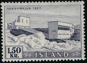 Iceland Waterfalls #292 Mint OG F-VF...Consider before prices rise!