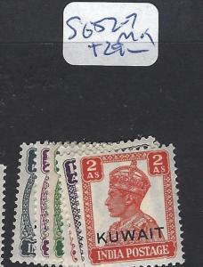 KUWAIT (P2512B) KGVI ON INDIA  SG 52-7  MOG