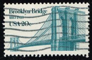 US #2041 Brooklyn Bridge; Used (0.25)