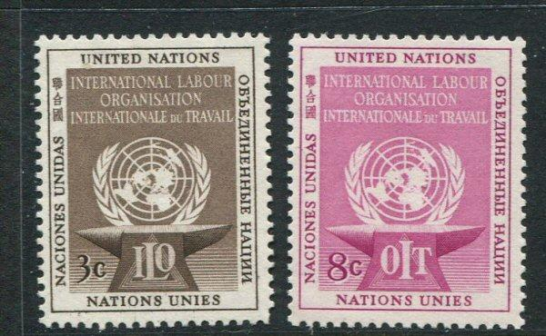 United nations #25-6 Mint (Box2)