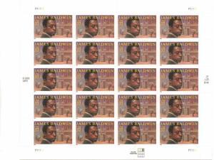 US 3871 - 37¢ James Baldwin Unused