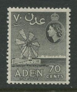 STAMP STATION PERTH Aden #54 - QEII Definitive Issue 1953-59  MNH  CV$0.30.