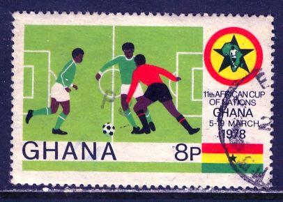 Ghana; 1978: Sc. # 660: O/Used Single Stamp