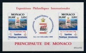 [I2654] Monaco 2001 good sheet very fine MNH
