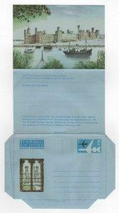 1969 GB Aerogramme Cover PRINCE WALES INVESTITURE CAERNARVON Stationery UNUSED