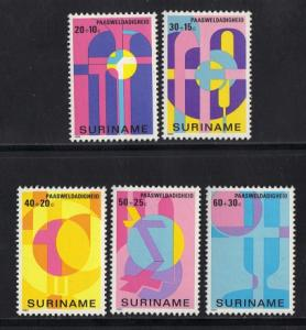 Surinam 1980 MNH Easter Charity complete