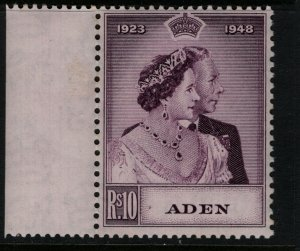 Aden #31 Very Fine Never Hinged Margin Copy