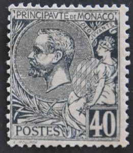 DYNAMITE Stamps: Monaco Scott #22 – UNUSED
