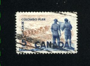 Canada  394  used VF PD 1961