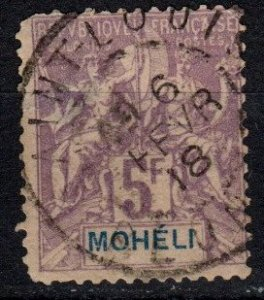 Moheli #16 Used CV $140.00  (X4078)