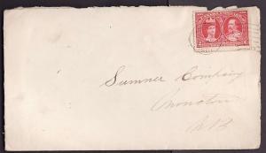 Canada #10039 - 2c Tercentenary - Amherst , NS  - Au 5 1908 -