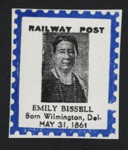 United States RAILWAY DELAWARE LOCAL POST EMILY BISSELL CINDERELLA  - BARNEYS