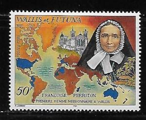 Wallis and Futuna Islands 486 Francoise Perroton single MNH