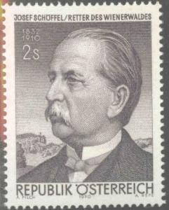 Austria Scott 858 MNH** 1970  stamp