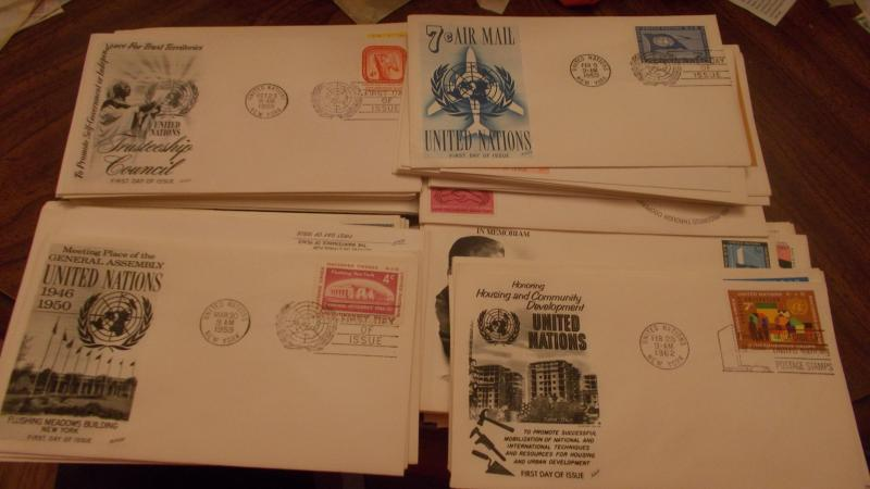 U.N. FIRST DAY COVER COLLECTION, INC. SCOTT #38