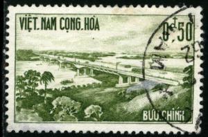 Vietnam - SC #166, USED,1961 - Item VIETNAM097NS5