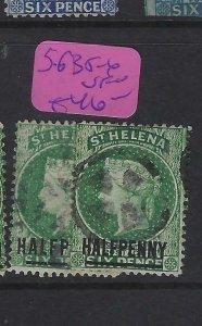 ST HELENA  (P0705BB)  QV  1/2D      SG 35-6    VFU