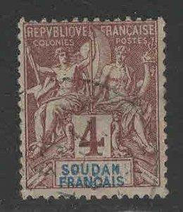 French Sudan Scott 5 Used