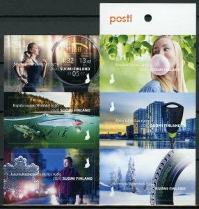 Finland Inventions Stamps 2020 MNH Made in Finland Science 6v S/A Booklet