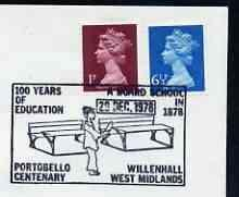Postmark - Great Britain 1978 cover bearing illustrated c...