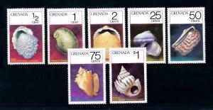 [99653] Grenada 1975 Marine Life Sea shells  MNH
